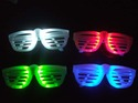 12 LEDS Rock Star Glasses