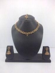 kundan gold plated necklace sets