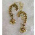Jaipuri Round Earrings