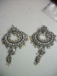 Brass Sterling Earrings