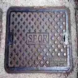 Concrete Rectangular Manhole Cover