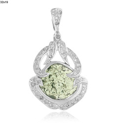 Slice Diamond Pendants Jewelry
