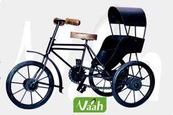 Handcrafted Iron Rikshaw