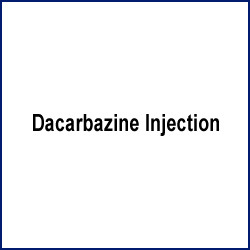 Dacarbazine+Injection