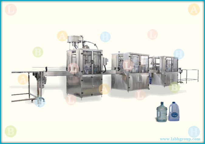 Automatic Drinking Water Jar Filling Line