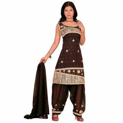 Designer Ladies Suits Party Wear Ladies Suits Exporter From Delhi