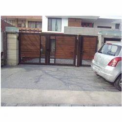 Designer Wooden Gate