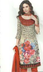 Leopard Print Salwar Kameez
