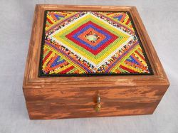 Colorful Handicraft Box