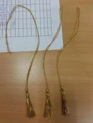 Custom Made Tassels In Gold