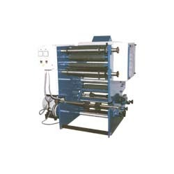 Slitting Machine with Single Color Printing