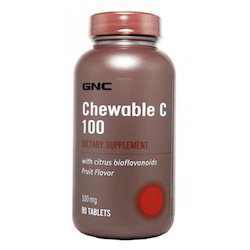 Vitamin C 100 MG Chewable Tablets