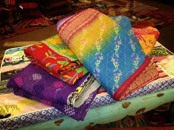 New Sari Throws