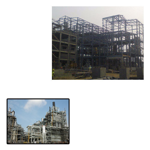 Structural Steel Shed for Chemical Plant