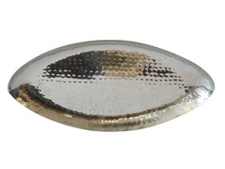 SS Hammered Oval Platter