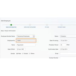 Automatic Employee Numbering Payroll Software