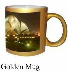 Sublimation Golden Mugs