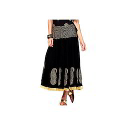 Black Colored Skirt