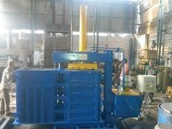 Twin Rotatable Box Baling Machine