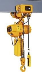 Electrical Chain Hoist with Trolley