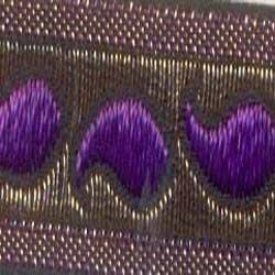 zari jacquard laces