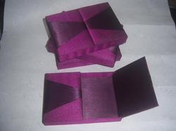 Fabric Covered Boxes for Wedding Invites