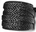 Round Braided Leather Cord