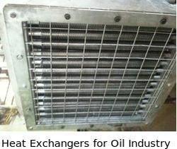 Heat Exchangers for Oil Industry