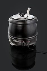 Electric Black Soup Pot