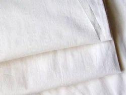 Cotton White Flannel Fabric