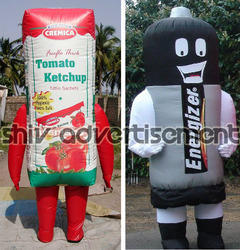 Promotional Walking Inflatable Advertising