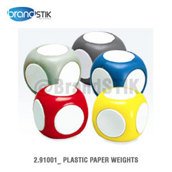 Plastic Paper Weights