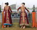 Velvet Salwar Suit