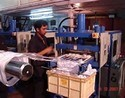 Online Cutting with Vacuum Forming Machine