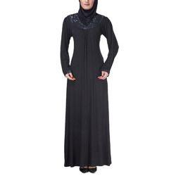 black burkha with hizab