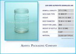 100 GMS Alprovite Granules Jar