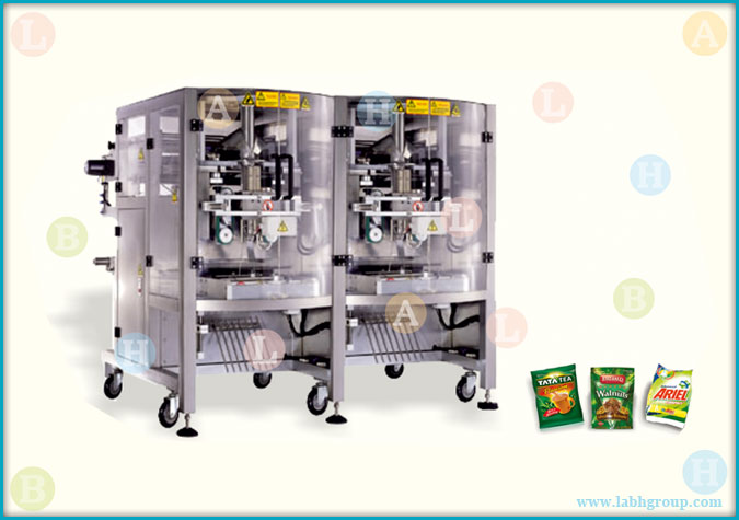 Automatic Double Head Sachet Packing Machinery