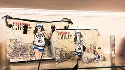 Printed Girl Tote Bags