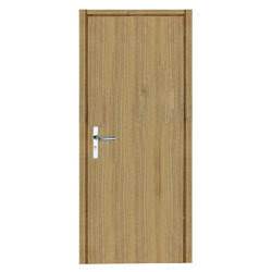 Green Flush Door