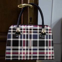 Ladies Checkered Handbags