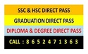SSC HSC Graduation Diploma Degree