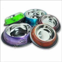 Colored Dog Bowls