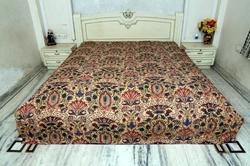 Mew Cotton Kantha Mughal Bed Cover
