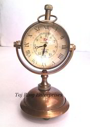 Antique Brass Nautical Clock
