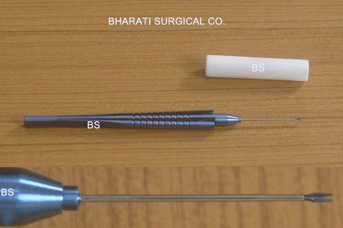 Vitreous Serrated Forceps Titanium 23 g