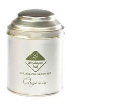 Darjeeling Organic Green Tea Tin 100gm