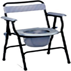 Back Support Commode Chair