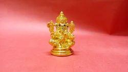 Gold Plated Dp Ganesha