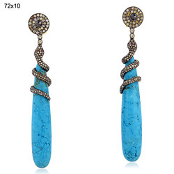 diamond drop earrings victorian jewelry
