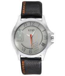 VESPL Decent Silver Dial Analog Men's Watch-VS100